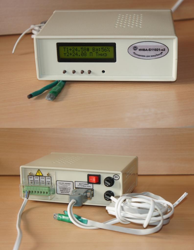 Блок управления инкубатором ИНВА-Б11021-с2 со стандартным дисплеем