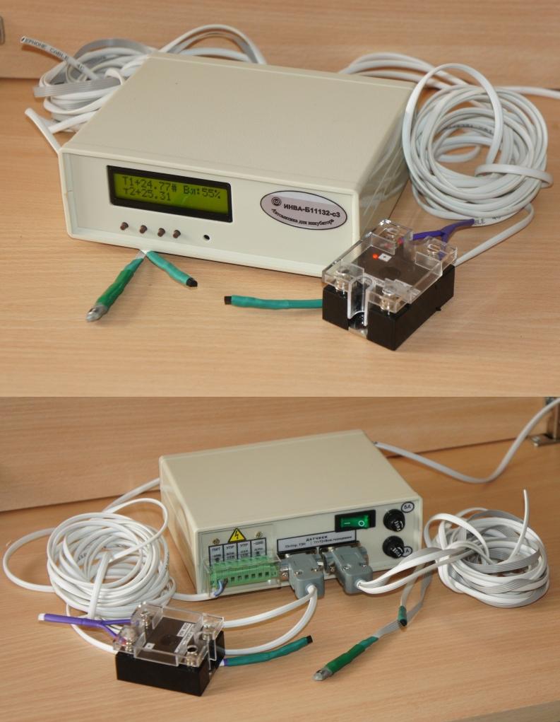 ИНВА-Б11132-с2. Блок управления инкубатором со стандартным дисплеем