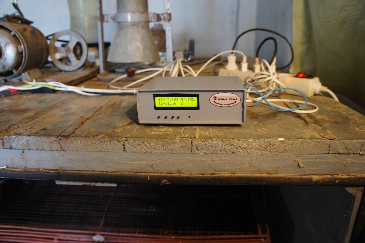 Автоматика для необычных инкубаторов
