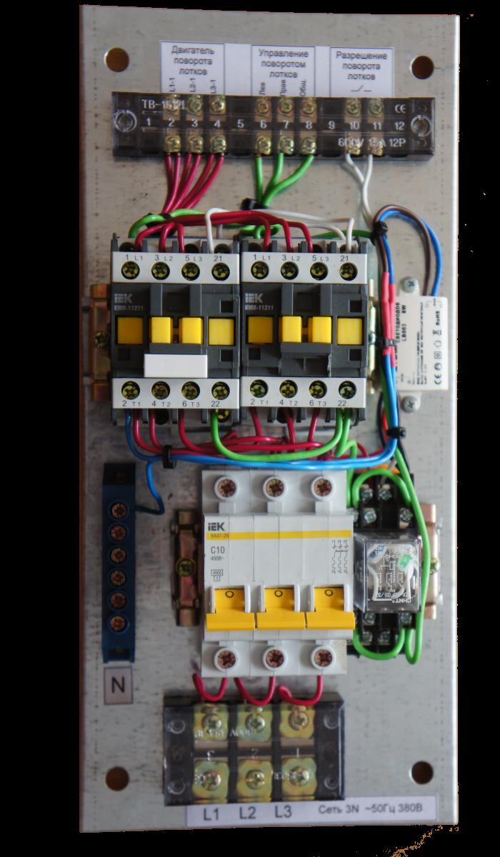 Силовой шит управления лотками ИНВА-УПЛ
