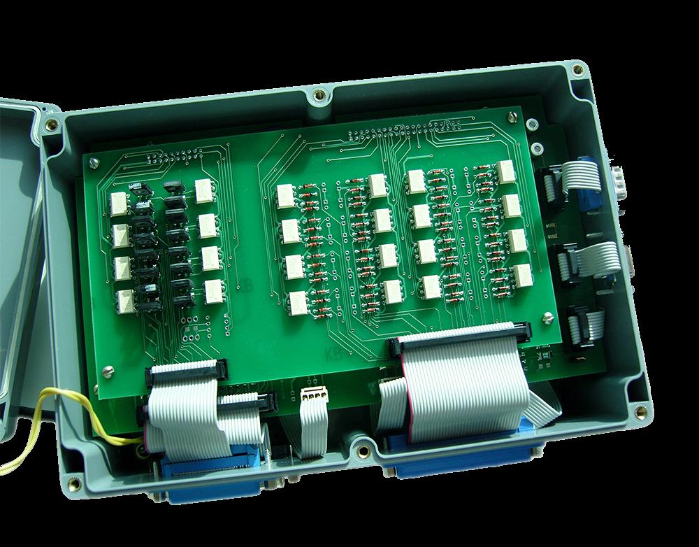 Устройство  контроллера ЭЛЕС-320 Вариант-1