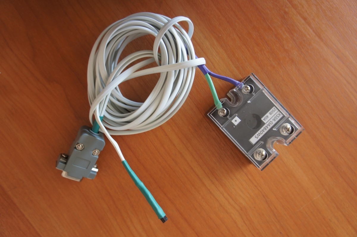 датчик в кабеле