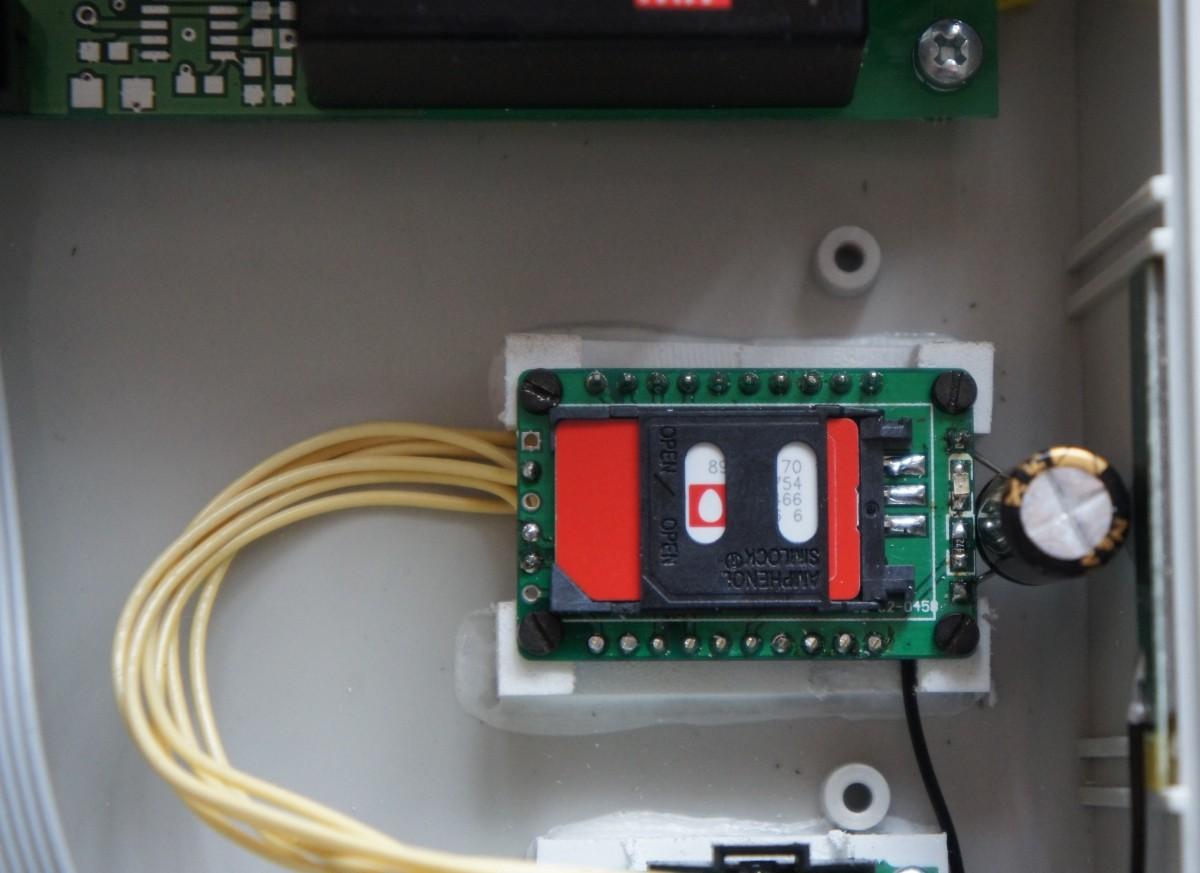 модем в блоке ИНВА-Б411132-с3G-RS485