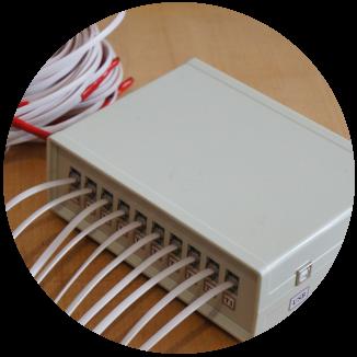 Блок контроля температуры в инкубаторе