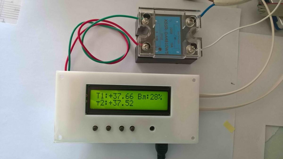 ИНВА-А201-01. Плата управления инкубатором