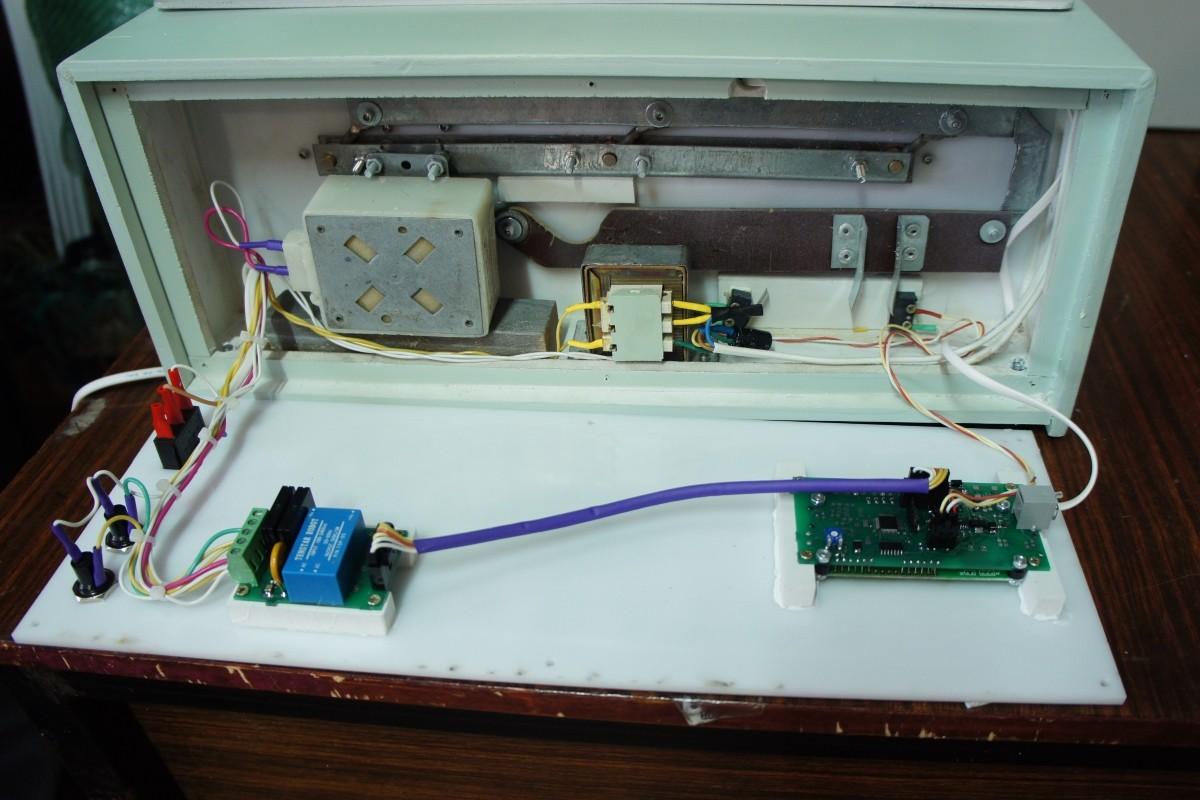 Пример применения платы управления ИНВА-А201-01 в инкубаторе БИОН на 100 яиц