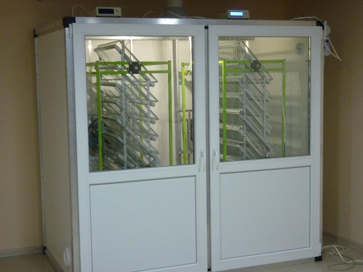 Предварительный инкубатор на 3000 яиц