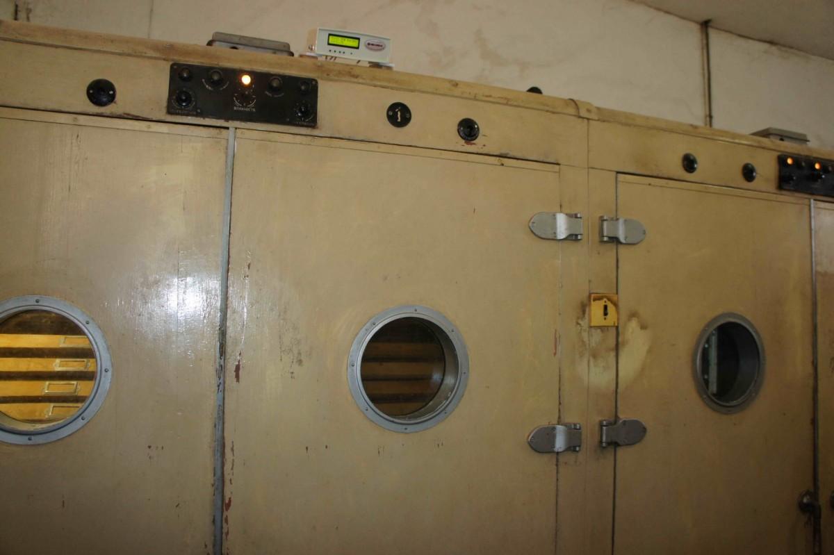инкубатор Универсал-45 под управлением блока автоматики ИНВА-Б11130М-с3-RS485