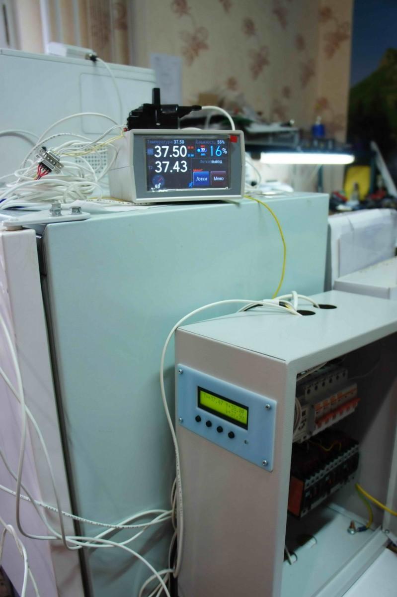 Комплекс автоматики для инкубатора при испытаниях