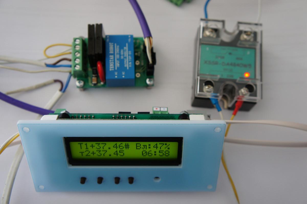ИНВА-А201-02. Комплекс плат для управления инкубатором