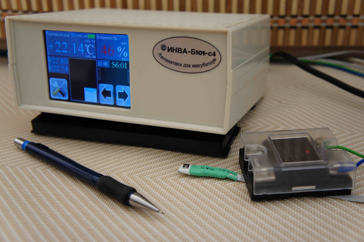 БЛОК ИНВА-Б101(2)-С4 - автоматика для инкубаторов повышенной вместимости