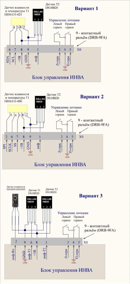 Схема разъема 1