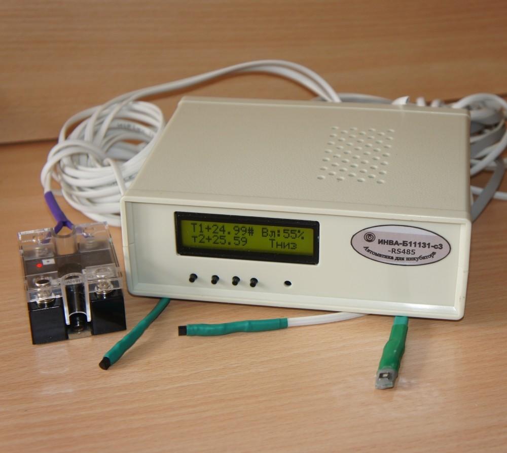 ИНВА-Бx1131-с3-RS485. Блок управления инкубатором
