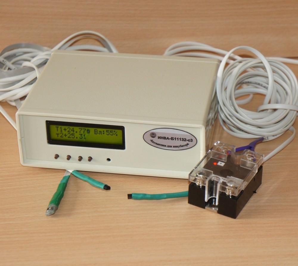 ИНВА-Бx1132-с3. Блок управления инкубатором