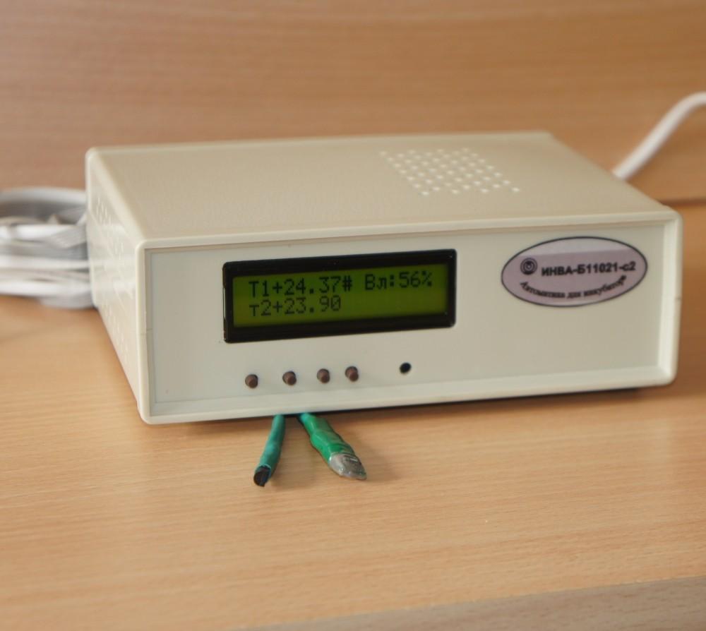 ИНВА-Б11х21-с2. Блок управления инкубатором