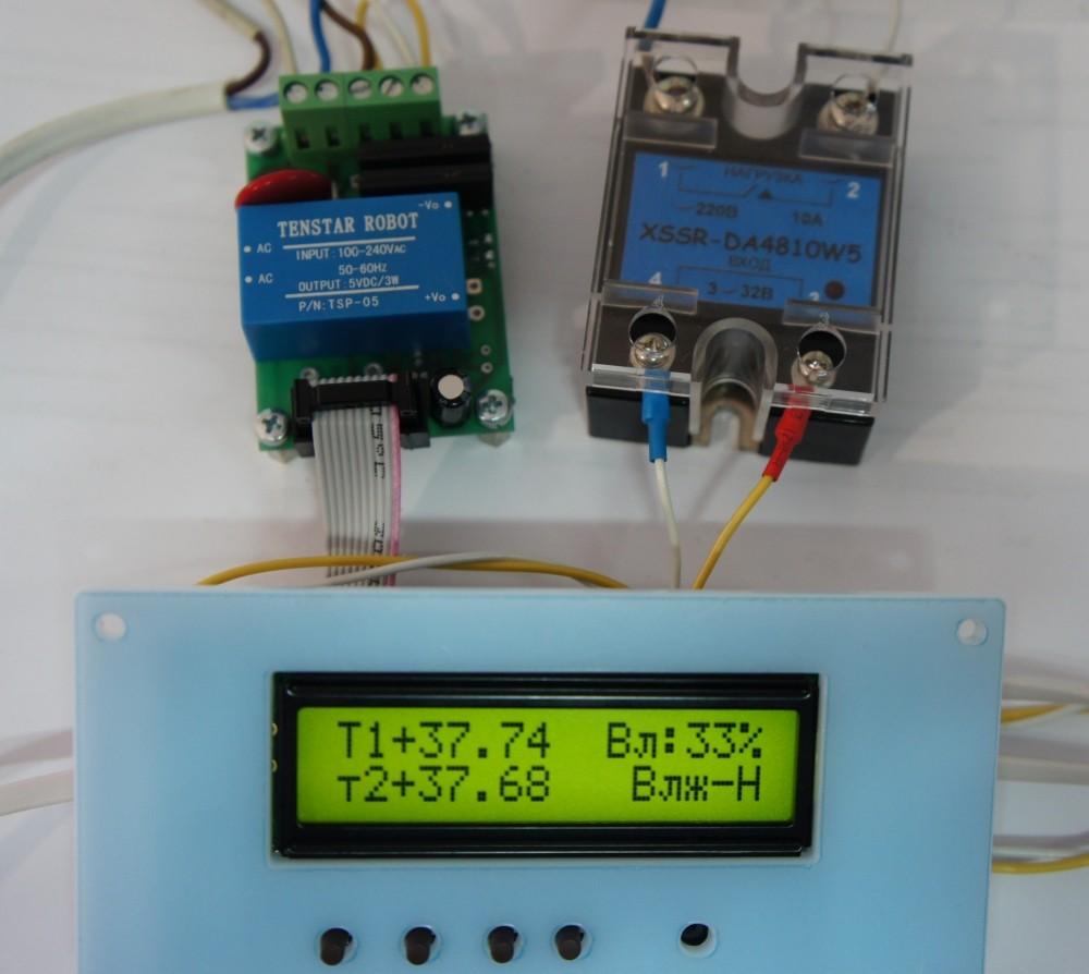 Плата управления инкубатором ИНВА-А202-03